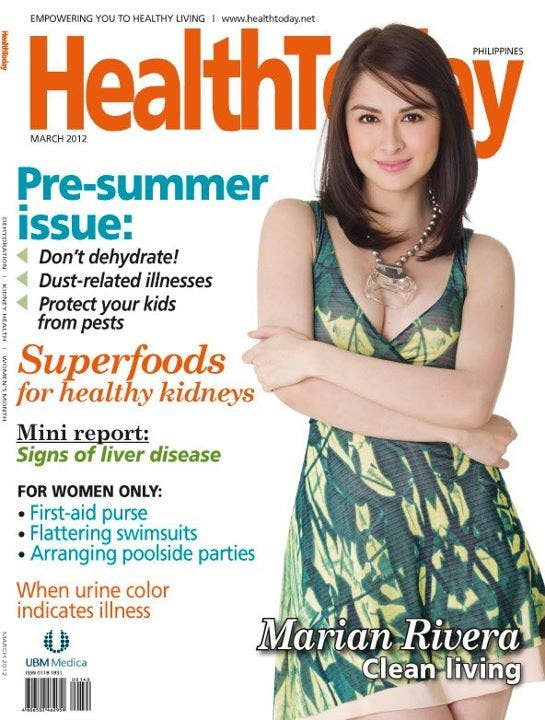 Marian Rivera Health Today March 2012