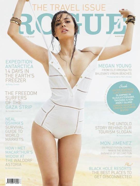 Megan Young Rogue March
