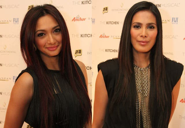 Us Girls hosts Iya Villania & Angel Aquino (Photo by Allan Sancon)