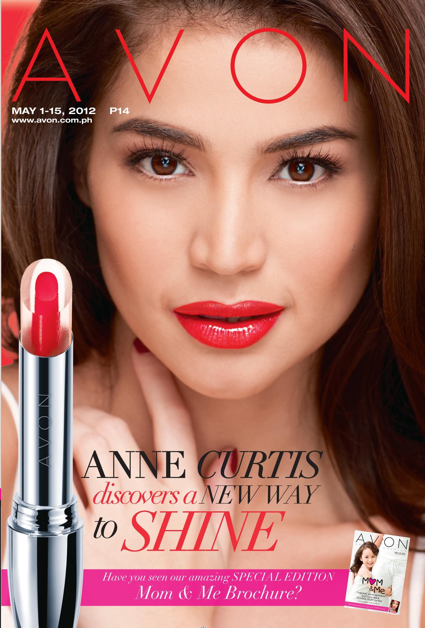 Anne Curtis Avon Brochure Cover