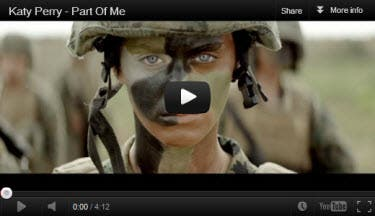 Katy Perry Part of Me MV