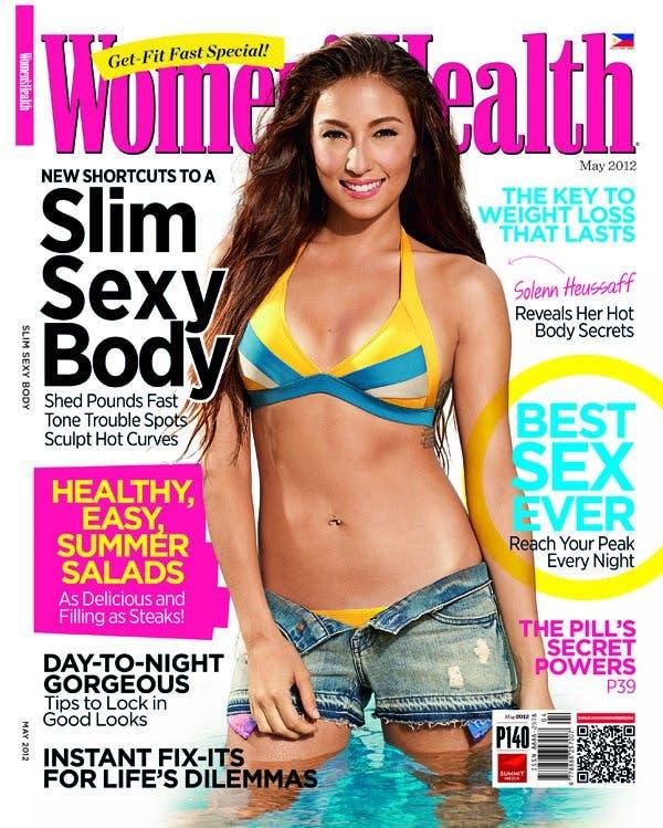 Solenn Heussaff Women's Health