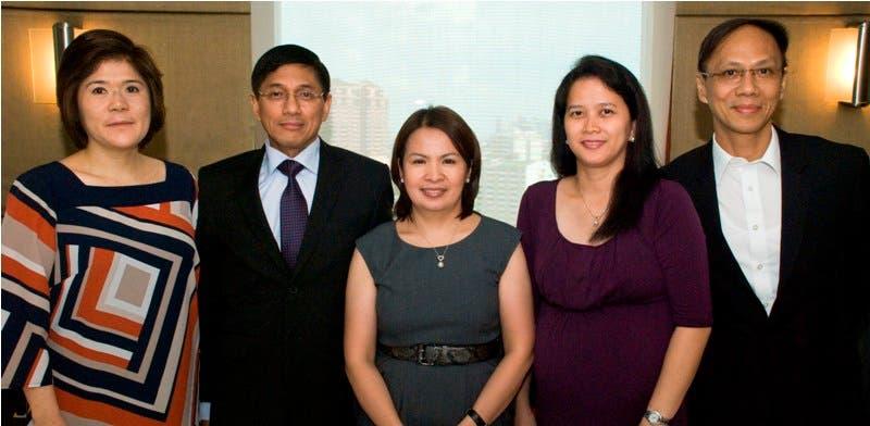 ABS-CBN Heads (L-R) Vivian Tin, Rolando Valdueza, Peng Armonia, Paz Balayan and Mike Villanueva (1)