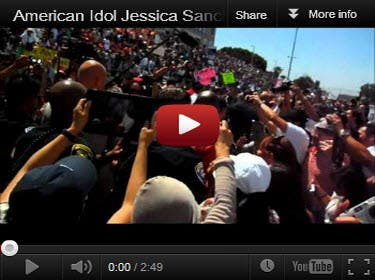Jessica Sanchez Homecoming Video