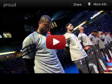 jessica US National Anthem NBA