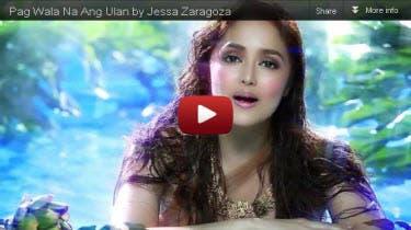 Jessa Zaragoza – 'Pag Wala na Ang Ulan' Music Video