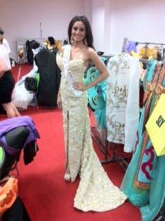 Queenie White Gown