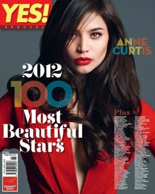 YES 100 Most Beautiful 2012 Anne Curtis