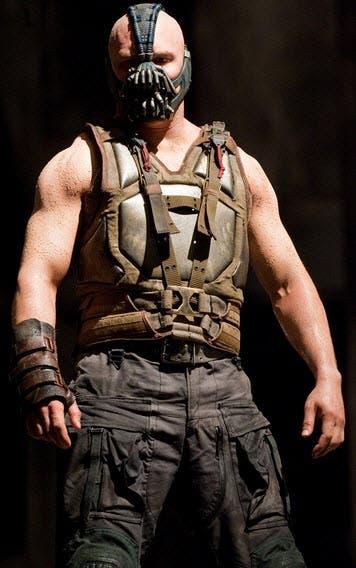 Tom Hardy is Bane, Batman's Nemesis in 'The Dark Knight ...  Tom Hardy is Ba...