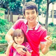 Jerome Ponce with Mutya