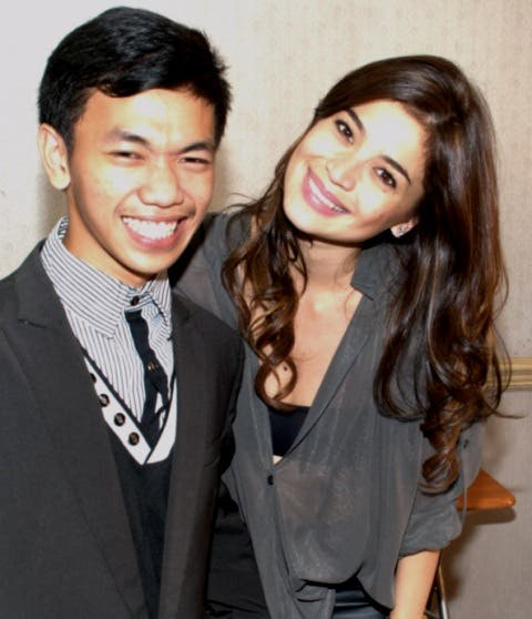 Jhaypee with It's Showtime host Anne Curtis