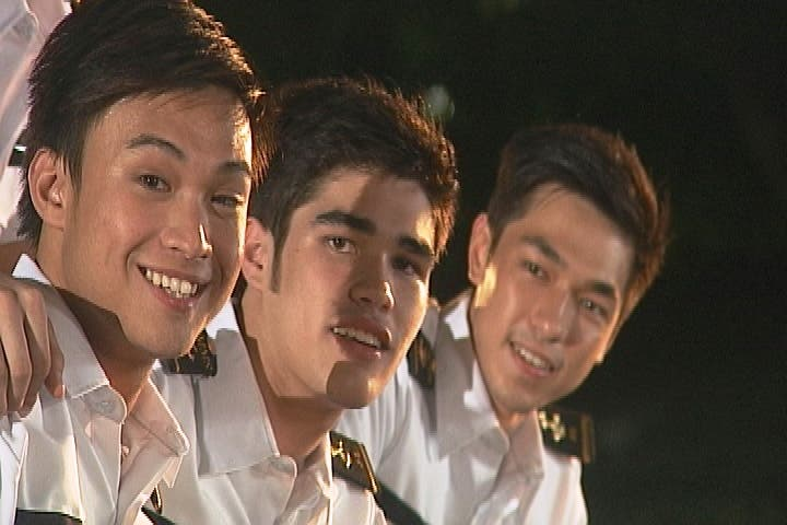 Edgar Allan Guzman, Ryan Boyce, David Chua in MMK