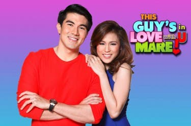 Luis Manzano and Toni Gonzaga