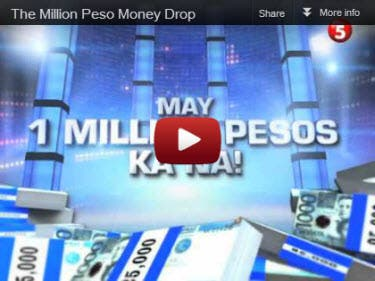 the million peso omeny drop First thing i would do is sell everything that i settled for because i couldn't afford something better, or just because that was the practical choice considering my pre-multimillionaire financial status then i'd take a break from college since no more money problems would be pressuring me to finish and get a.