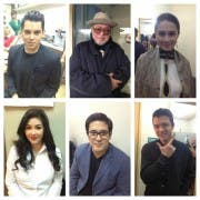 The Judges of Mr Pogi 2012