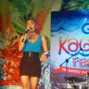 The La Diva at SM City CDO for the Kagay-an Festival Kapuso Night