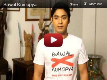 Bawal Kumopya Campaign