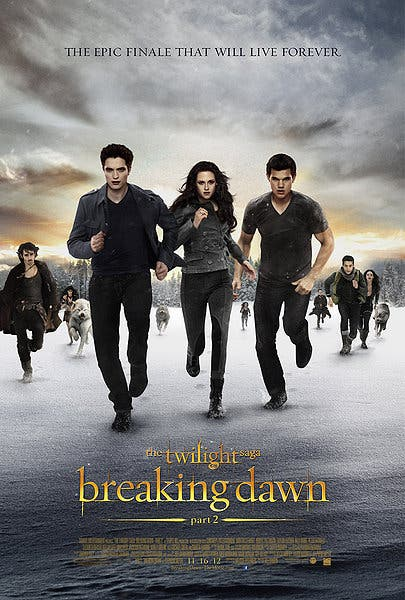 Breaking Dawn Part 2 - Movie Poster