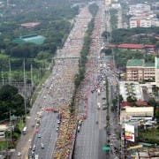 Commonwealth Ave. during the 09.30.2012 Run, Ride  Roll for the Pasig River by Doy Ongleo (2)