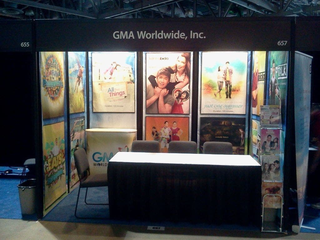 GWI's section at the Airline Passenger Experience Expo last September in Long Beach, California
