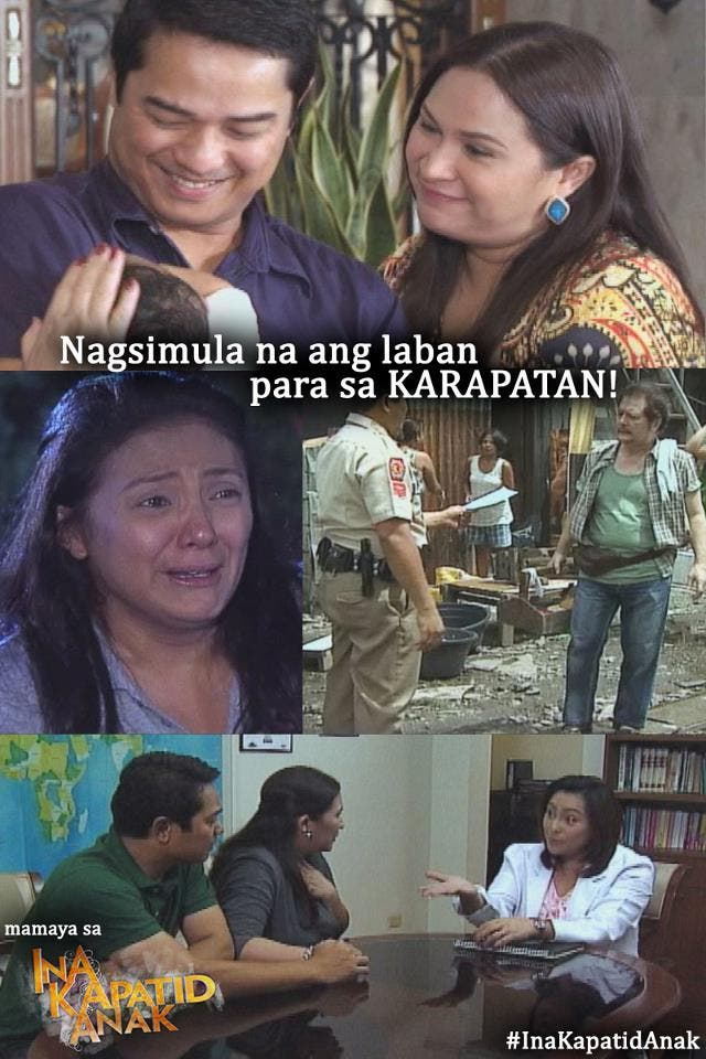 """Ina Kapatid Anak"""" overtook its competition as the no. 1 show during"""
