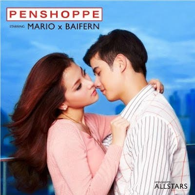 Mario Maurer and Baifern Pimchanok for Penshoppe