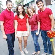 Matt Evans, Jessy Mendiola, Jewel Mische and Matteo Guidicelli
