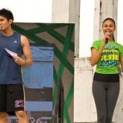 Robi Domingo and Venus Raj