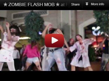 Zombie Flash Mob Viral Video