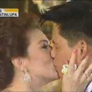 Carmina and Zoren's first kiss as husband and wife_1
