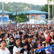'Ina Kapatid Anak' OST launch drew 10000 people in Harbor Point Subic