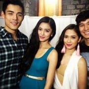 Ina Kapatid Anak mall show_Xian Kim Maja and Enchong