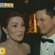 Mr and Mrs Zoren Legaspi after their wedding