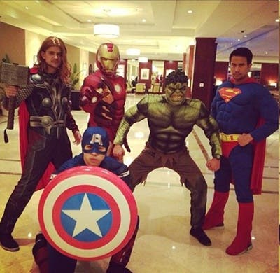 Rayver and co - The Avengers