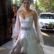 Shaina Magdayao on her wedding dress