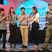 Arnel Ignacio, Gelli de Belen, Marvin Agustin, Shalani Soledad and Epi Quizon