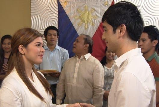 Award-winning actress Shaina Magdayao and promising Kapamilya actor Bryan Santos topbill 'MMK' this Saturday_ (1)
