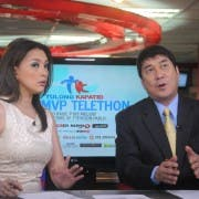 Cheryl Cosim and Raffy Tulfo