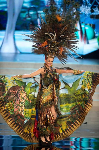 Miss Universe 2012 Top 15 In National Costume Starmometer