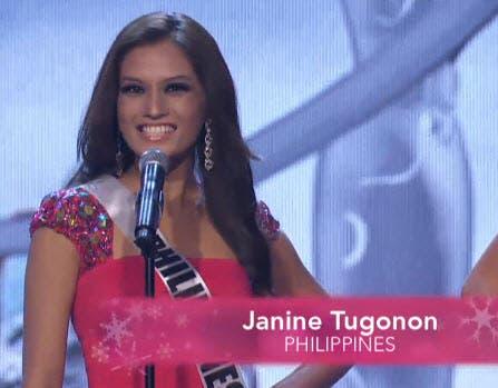 Janine Tugonon Philippines