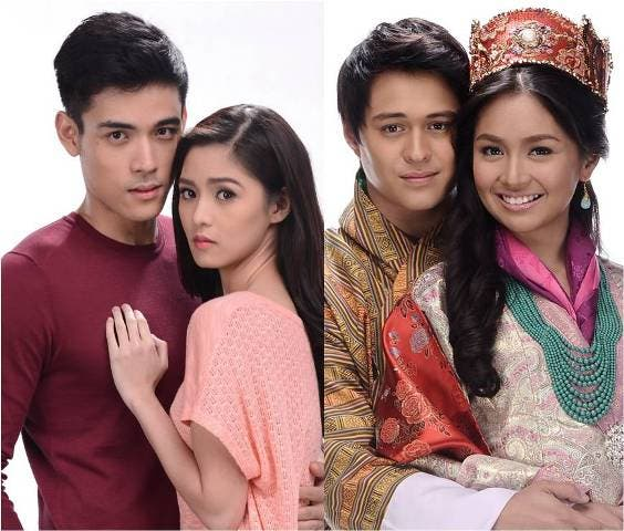 Kim-Xian and Kathryn-Enrique go on a double date in 'ASAP 2012's' year-end countdown