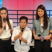 Shalani Soledad, Superstar Nora Aunor and Gelli de Belen