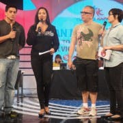 Wendell Ramos, Ruffa Gutierrez, Direk Joey Reyes and Bing Loyzaga