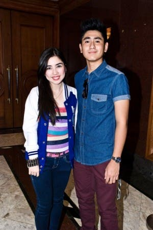 Angeli Gonzales and CJ Navato