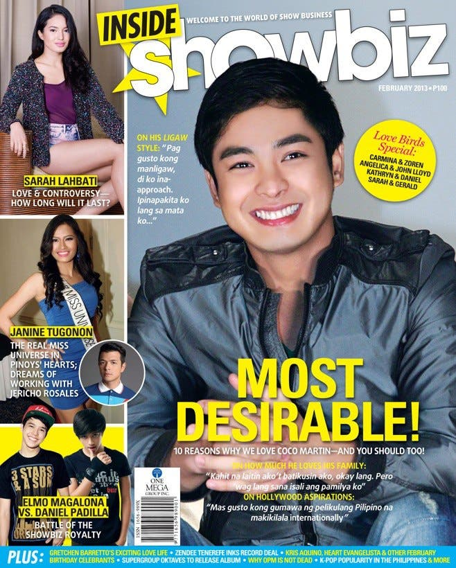 Coco Martin Inside Showbiz