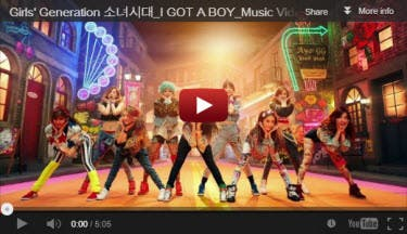 GG I Got A Boy MV