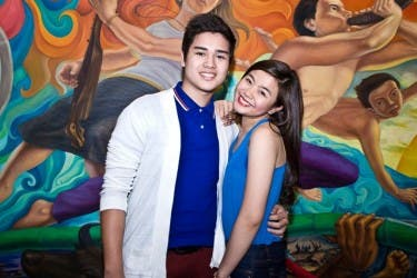Marco Gumabao and Miles Ocampo