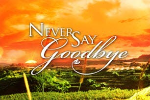Never Say Goodbye Title Card