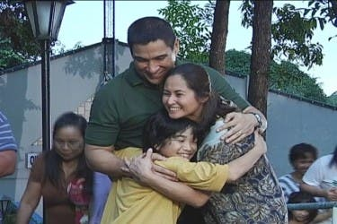 Zaijian Jaranilla, Ricardo Cepeda, and Sharmaine Suarez in 'Wansapanataym's' Kapitan Liit episode