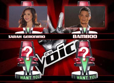 Bamboo and Sarah the Voice